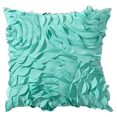 Decorative Pillows Pbteen : Pretty Petals Pillow PBteen