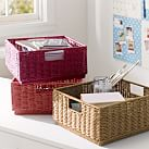Stackable Wicker Bins, Warm