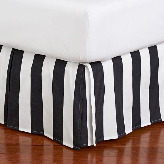 The Emily & Meritt Circus Stripe Bedskirt, Twin