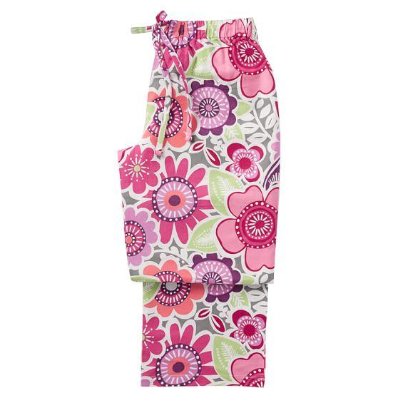Sweet Dreams Pajama Pants, Small, Laura Floral