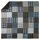 Preston Patchwork Quilt, Twin, Blue Multi