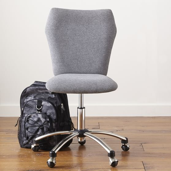 Airgo Highlands Armless Chair, Gray