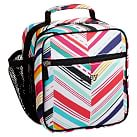 Gear-Up Diagonal Stripe Classic Lunch with Mesh Side Pocket, Multi