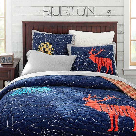 Burton Extreme Peak Quilt, Full/Queen