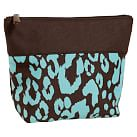 Coffee Cheetah Makeup Travel Pouch