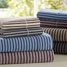 Tonal Stripe Favorite Tee Sheet Set, Queen, Black