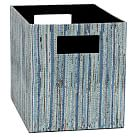 Upcycled Storage Bins, Medium, Pool