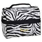 Gear Up Retro Lunch Bag, Zebra Black