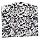 Addison Camelback Slipcover, Full, Twill, Zebra