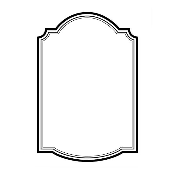 Classic Dry-Erase Message Board Decal
