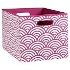 Mix n Match Bin, Large, Pink Scallop