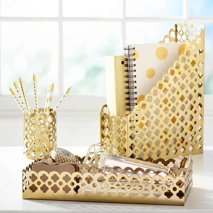 Cute Girly Office Supplies Quicklook