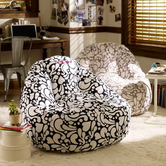 Mod paisley leanback lounger pbteen - Leanback lounger chairs ...