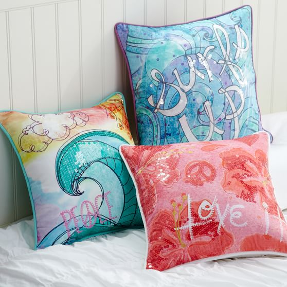 Throw Pillows Primark : Surf N Sand Pillow Cover PBteen