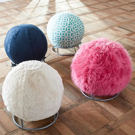 Fur Rockin Roller Desk Chairs Pbteen
