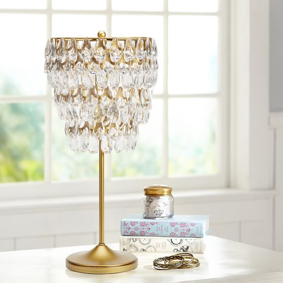 Teardrop table lamp pbteen - Table lamps for teens ...