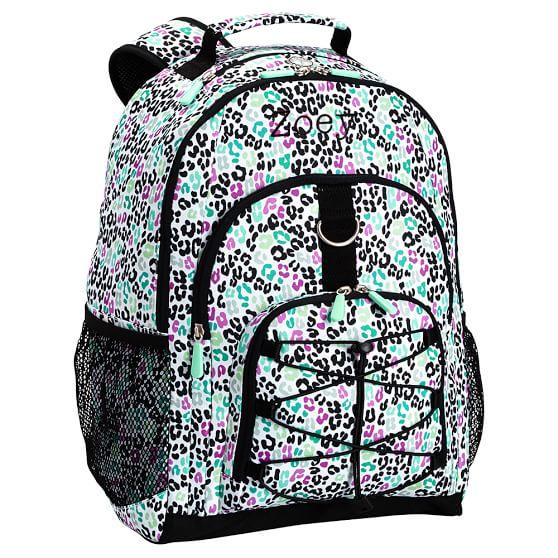 Gear Up Black Multi Cheetah Backpack Pbteen