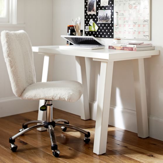 Customize it simple small desk pbteen Small bedroom desk