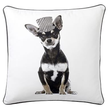 ASPCA Party Dogs Pillow Cover, Chihuahua PBteen