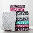 Mini Dot Sheet Set, XL Twin, Maroon