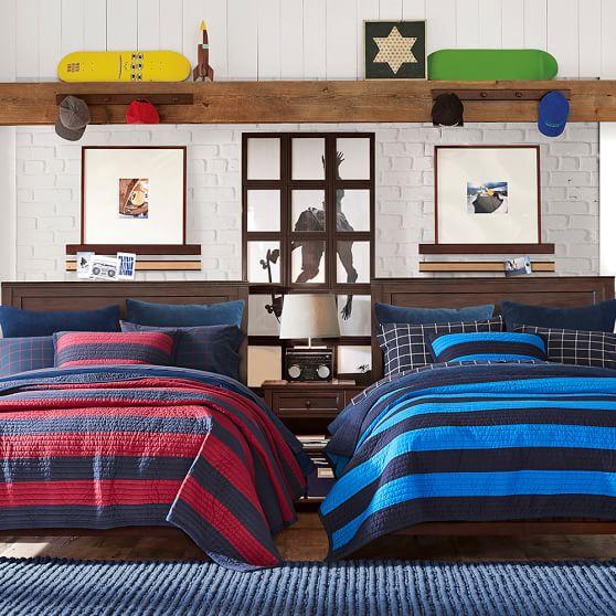 beadboard basic bed set pbteen