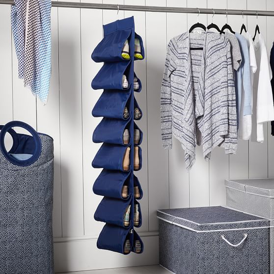 Hanging Closet Shoe Storage Solid Pbteen