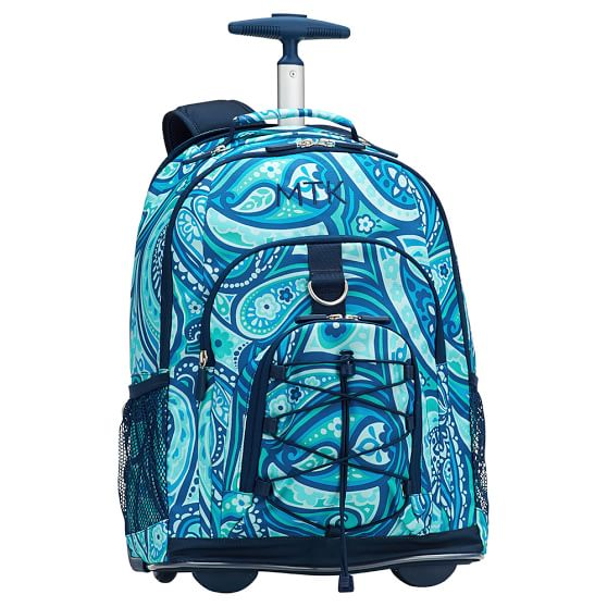 Gear-Up Paisley Power Rolling Backpack | PBteen