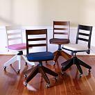 Swivel Desk Chair, Simply White