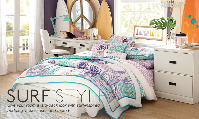 new teen furniture new teen decor pbteen. Black Bedroom Furniture Sets. Home Design Ideas
