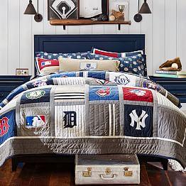 Baseball Bedding Amp Mlb Bedding Pbteen