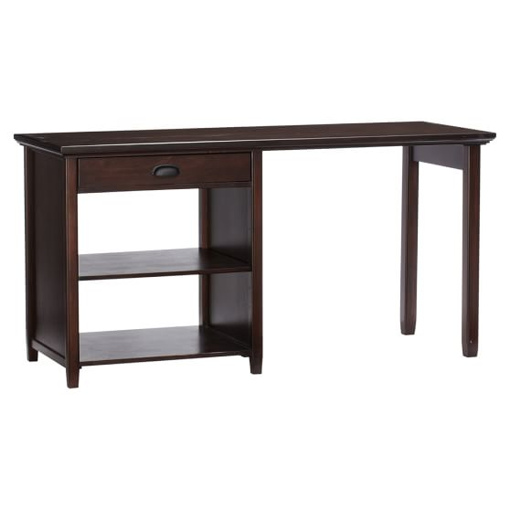 Large Chatham Snack + Study Desk, Dark Espresso