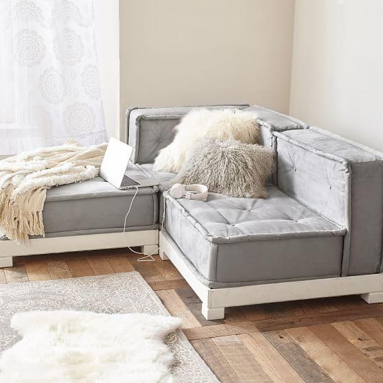 Cushy Lounge Sectional Set