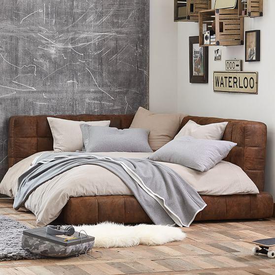 baldwin lounge bed pbteen. Black Bedroom Furniture Sets. Home Design Ideas