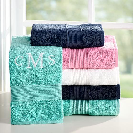 Organic Bathroom: PBteen Classic Organic Bath Towels