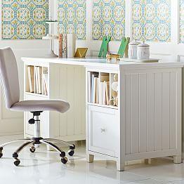 Beadboard Divider Desk J