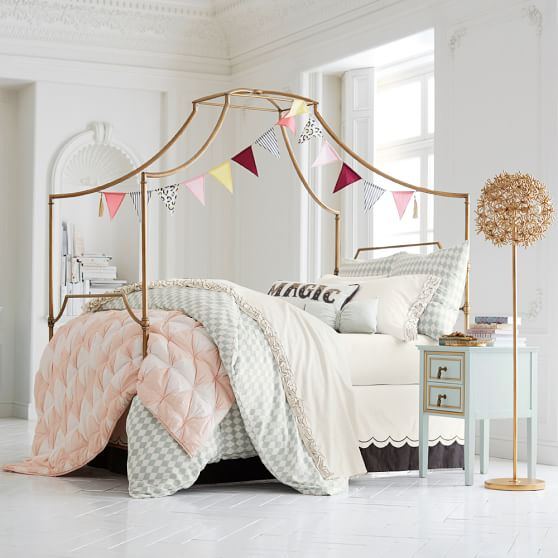 Scroll to Previous Item. Maison Canopy Bed   PBteen