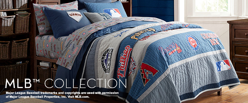 Baseball Bedding Amp Mlb Bedding Pbteen