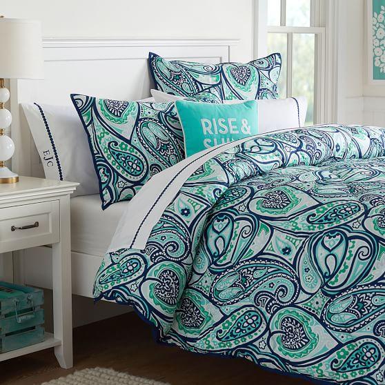 Paisley Perfect Comforter Sham Pbteen