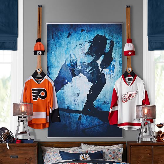 hockey wall mural pbteen