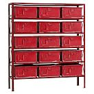 Rockwell 15-Drawer Bookcase