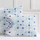 Kelly Slater Organic Ocean Floral Standard Sham, Blue Multi