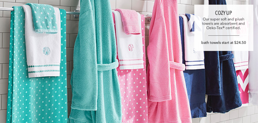 New Bath Towels