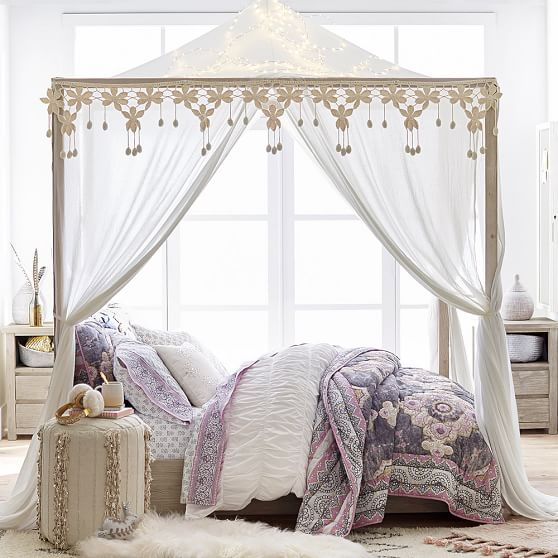 . Costa Canopy Bed   PBteen