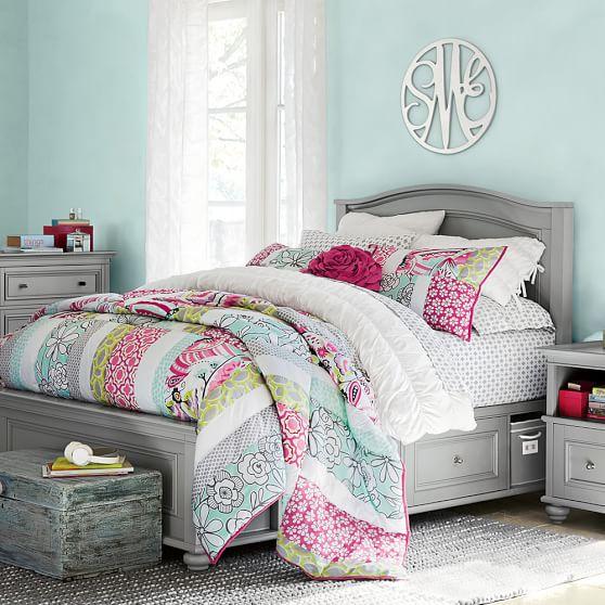 chelsea storage bed pbteen. Black Bedroom Furniture Sets. Home Design Ideas