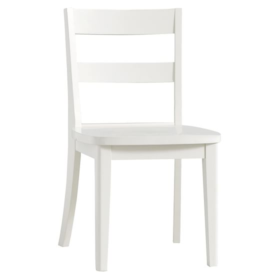 Essential Wood Desk Chair – White Wooden Desk Chairs