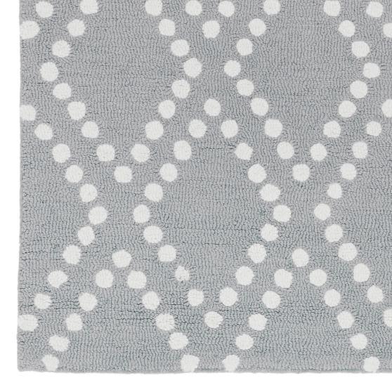 Grey Trellis Rug Home Decor