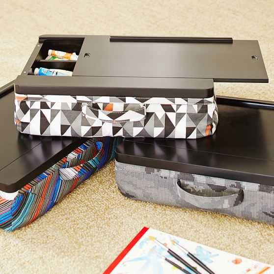 Wooden Lap Desk With Storage In Desks - Lap Desk With Storage Compartment - Hostgarcia