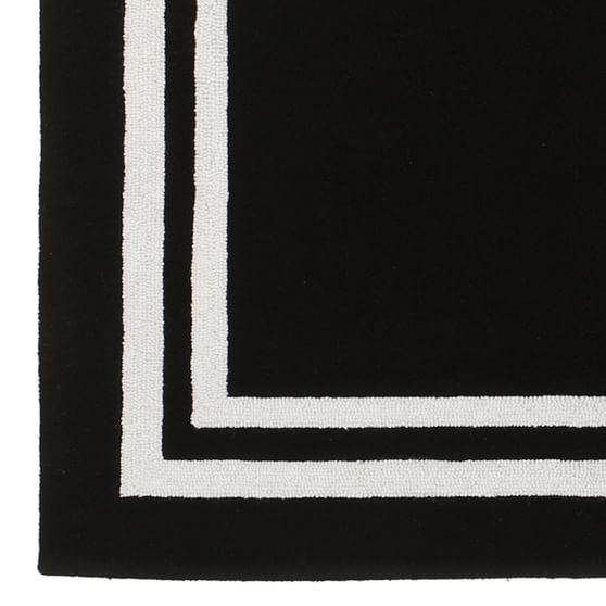 Decorator Border Hand Tufted Wool