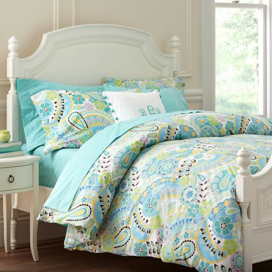 Paisley Pop Duvet Cover + Pillowcases