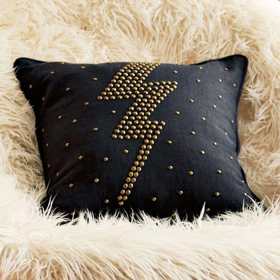 Bling Studs Pillow Cover Pbteen